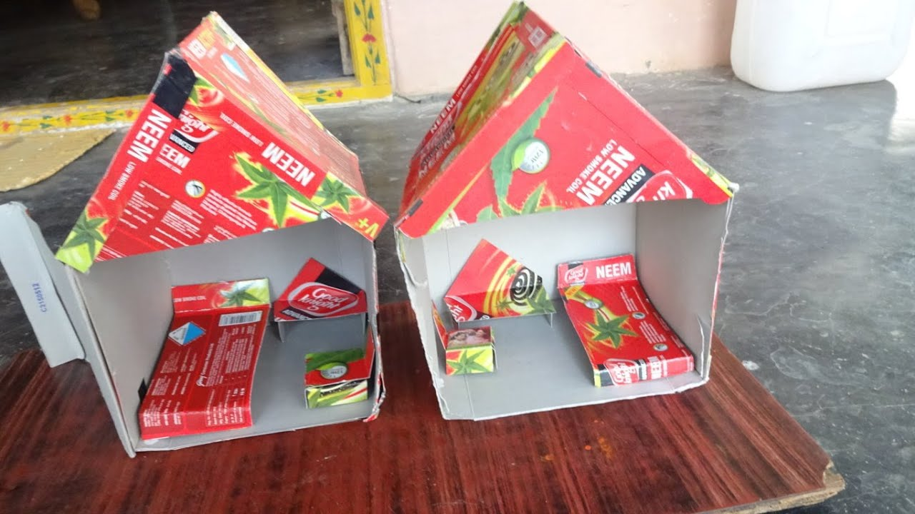 Kids House (Crafts For Kids To Make At Home ) By Amma Arts