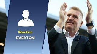 Dean Smith's Everton verdict: What an atmosphere!