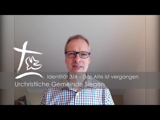 UGS - Predigt Teil 3/4 - Unsere Identität in Christus - Markus Klitschke