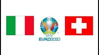 Италия Швейцария 3 0 обзор матча голы футбол ЕВРО 16 06 2021 смотреть онлайн прямой эфир
