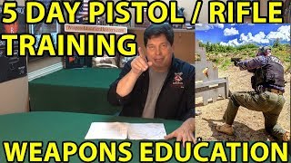 You're Invited- Private 5 Day Training-Pistol-Rifle-Master Instructor Ken Allen WeaponsEducation