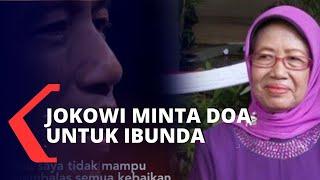 Gambar cover Jokowi Minta Doa Untuk Ibunda Sujiatmi Notomiharjo