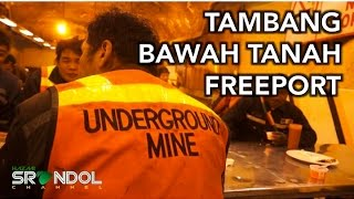 Download Video TAMBANG BAWAH TANAH PT FREEPORT (Grasberg's Underground Mine DOZ) MP3 3GP MP4
