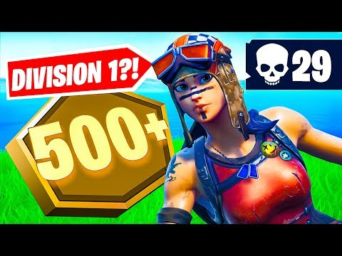 Pro Player Plays Division 1 In Fortnite... (29 Elims!)