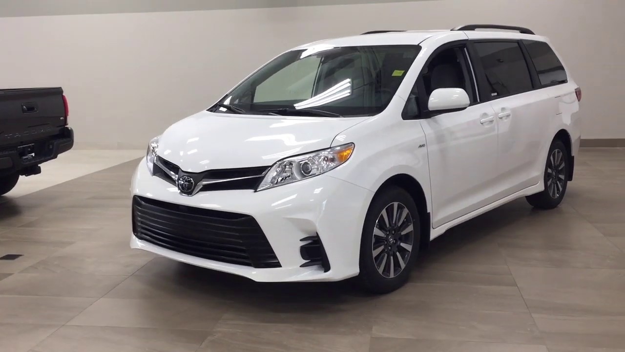 Toyota Sienna 2020 Review.2020 Toyota Sienna Le Awd Review