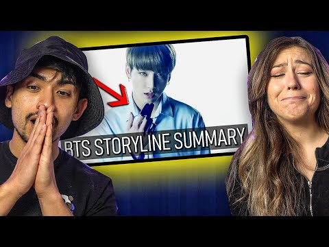 BTS STORYLINE SUMMARY + EXPLANATION - SHOCKED COUPLES REACTION! (we finally understand!!)