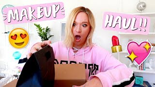 Makeup Haul and Unboxing!!
