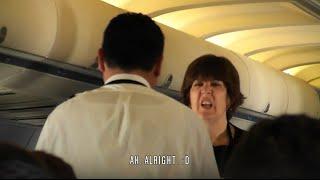 United 757 transatlantic inflight experience: Off to Newark - Part 2/3