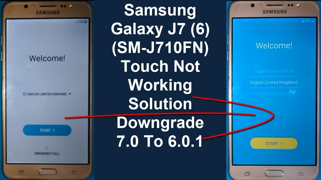 Samsung Galaxy J7 (2016) Touch Not Working Solution (SM-J710FN