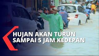 Banjir Jakarta, BMKG: Curah Hujan Terjadi Sampai 5 Jam Kedepan