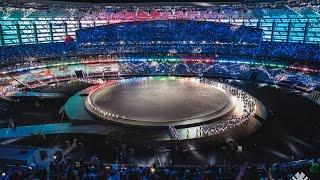 Эксклюзив. Церемония открытия  Европейских игр Баку 2015.