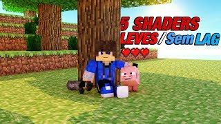 5 Shaders Bonitas e Leves / SEM LAG para rodar no Minecraft