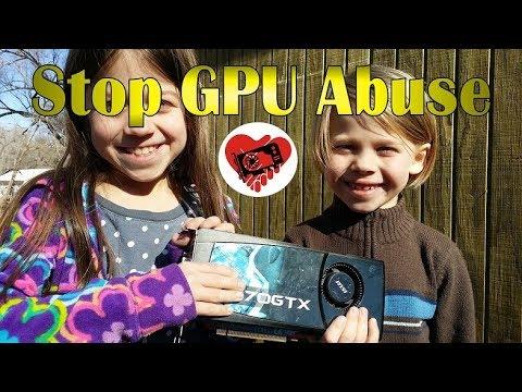 Stop GPU Abuse today!