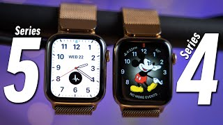 Apple Watch Series 5 vs Series 4 after 4 Months!