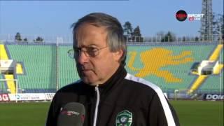 Мнението на Георги Дерменджиев след победата над Славия