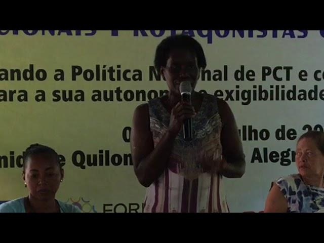 Lucely Morais Pio, raizeira, fala sobre o empoderamento da mulher
