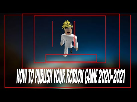 how to publish your roblox game