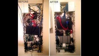 Home Automation/Gigabit Network Upgrade Tour