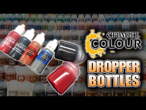 This Is How To Transfer Citadel Contrast Paints To Dropper Bottles Decant