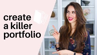 5 Tips For Creating A KILLER Portfolio That Closes MORE Clients  // Kimberly Ann Jimenez