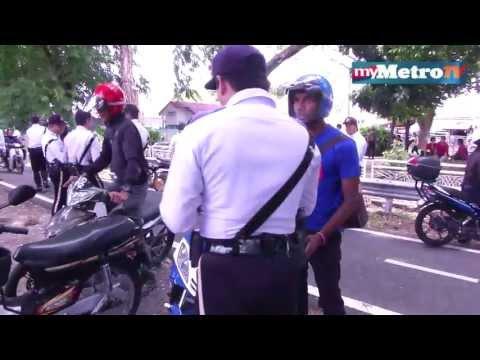 Ops Cantas Trafik Bukit Aman 350 saman dikeluarkan