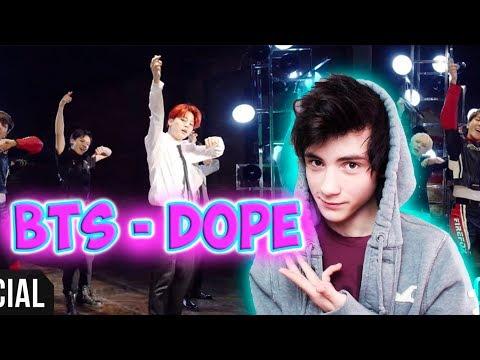 [MV] BTS(방탄소년단) _ DOPE(쩔어) Реакция   BTS K-pop   Реакция на BTS DOPE