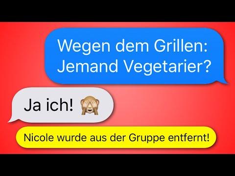 12 lustige WhatsApp CHATS in GRUPPEN!