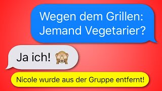 12 lustige WhatsApp CHATS in GRUPPEN!