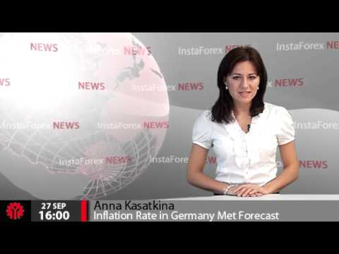 InstaForex News 27 September. Inflation Rate In Germany Met Forecast