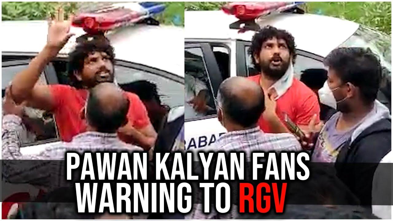 Download Breaking: Pawan Kalyan Fans Huge Fight @ Ram Gopal Varma Company Office #RGV | Fans Attack On RGV