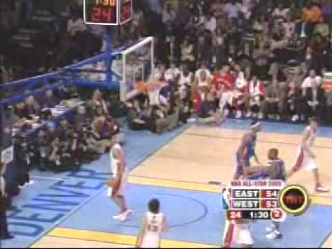 Vince Carter Self Alley-Oop at 2005 All Star Game