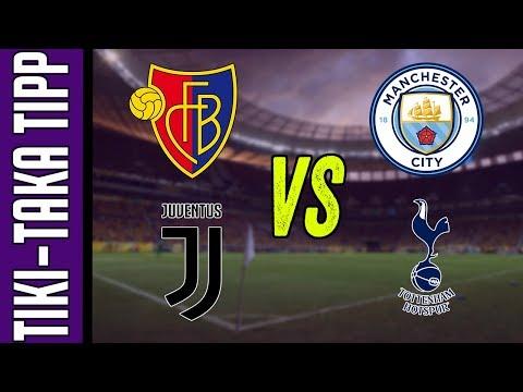 BL nyolcaddöntők: Basel vs. Man. City és Juventus vs. Tottenham | Tiki-Taka Tipp