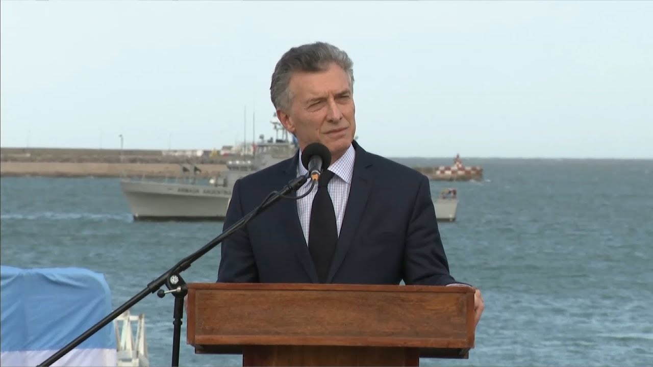 """Macri ratificó su compromiso con """"la búsqueda de la verdad"""", en la búsqueda del ARA San Juan"""