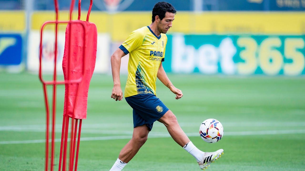 Primer entrenamiento del Villarreal