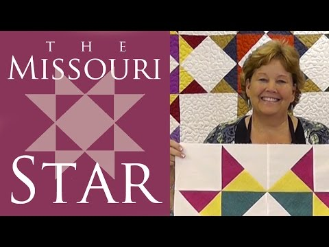 The Missouri Star Quilt Block: Easy Quilting Tutorial with Jenny Doan of MSQC
