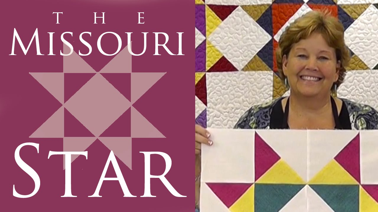 Make The Missouri Star Quilt Block With Jenny Doan Of