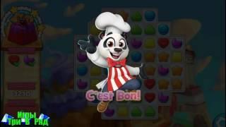Игра Варенье для печенья три в ряд на Андроид