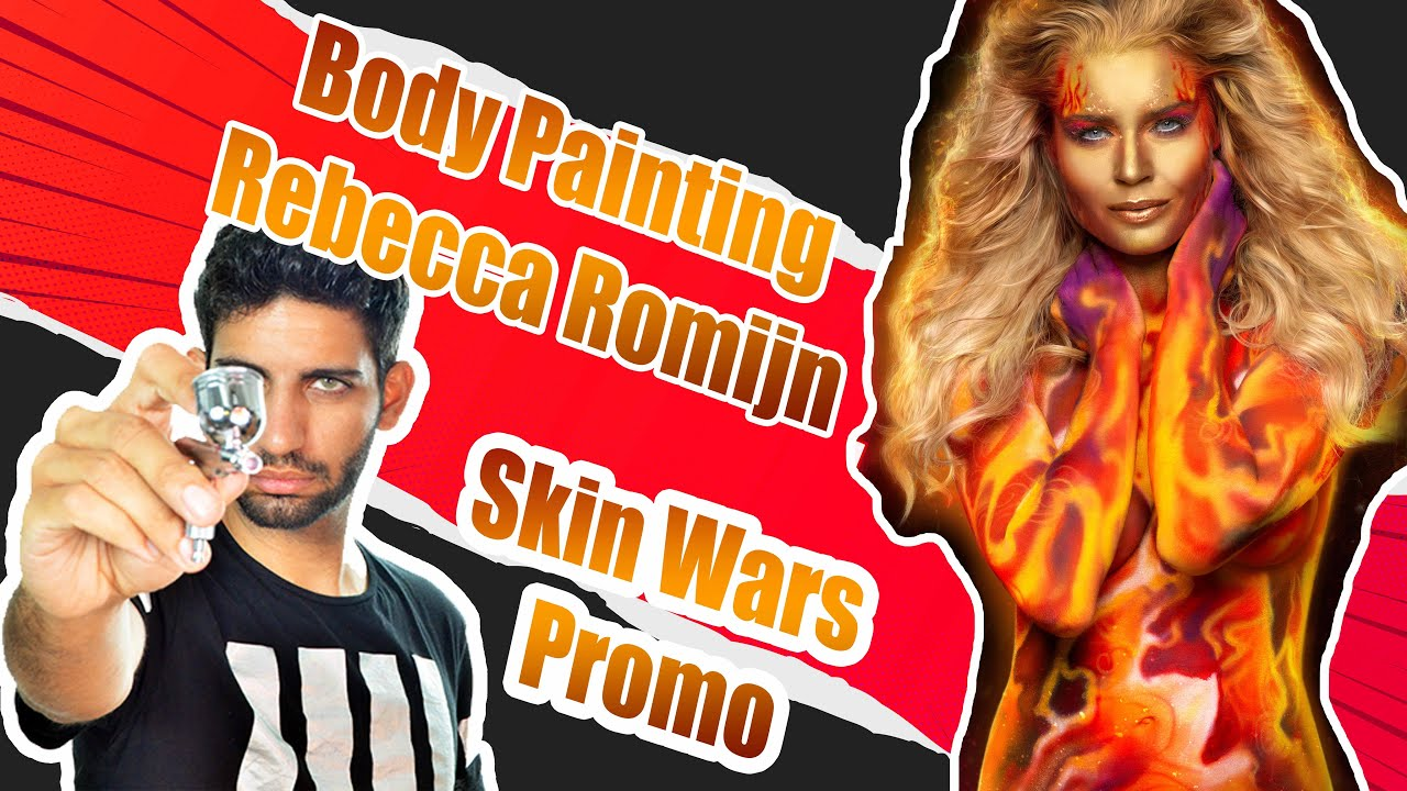 Rebecca Romijn Body-Painted | Skin Wars Season 3