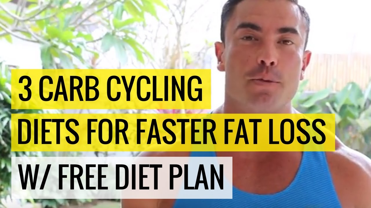 free carb cycling meal plan for fat loss