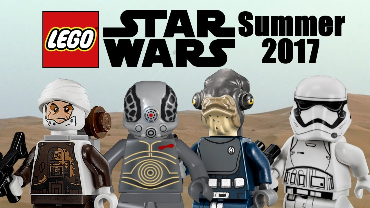 LEGO Star Wars Summer 2017 minifigures info and more ...