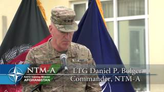NTM-A 9/11 Remembrance Ceremony at Camp Eggers (Kabul, Afghanistan)