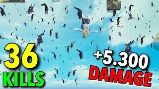NEW WORLD RECORD 5300 DAMAGE IN S11!!!   36 KILLS SOLO VS SQUAD   PUBG MOBILE