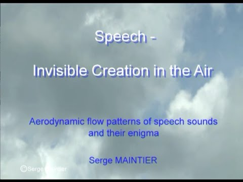 """""""Speech - Invisible Creation in the Air"""" by Serge Maintier"""