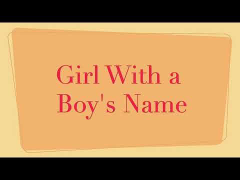 Girl With a Boy's Name