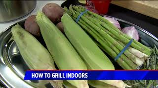 how to grill indoors