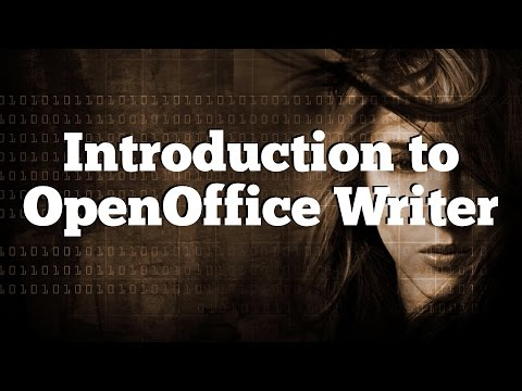 OpenOffice Writer Tutorial - 1 - Introduction & Basic Tools