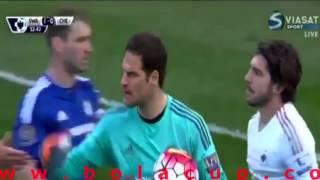 Swansea City vs Chelsea 1-0 All Goals & Highlights Premier League | 09/04/16