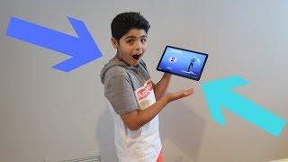 Samsung Galaxy Tab S4 Unboxing Exclusive Galaxy Fortnite Skin