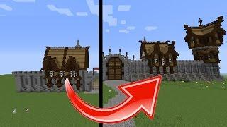 minecraft medieval buildings build