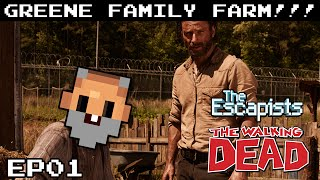 "The Escapists THE WALKING DEAD Gameplay S01E01 - ""DON"